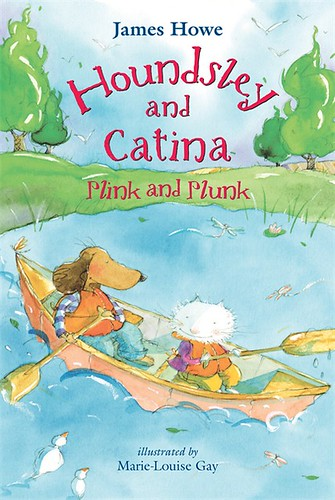 Review of the Day   Houndsley and Catina: Plink and Plunk by James Howe