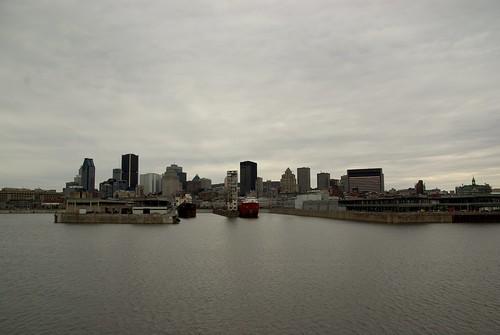 Montréal, vu du pont de la Concorde