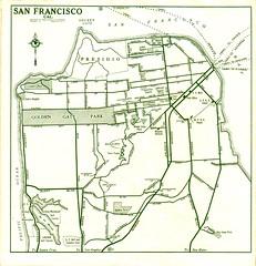 1932 Texaco Road Map (Jasperdo) Tags: sanfrancisco road old 1932 vintage highway map historic gasstation texaco us101 highwaymap vintageroadmap texacoroadmap ferryroutes