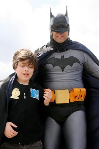 with Batman