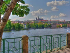 Czech Republic Prague Prag Praha Hradschin (doc.holiday41) Tags: travel castle river europa europe republic czech prague prag praha tschechien hradschin explore viagem vacaciones vltava ferias burg reise prager moldau flus mywinners lovely~lovelyphoto