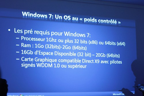 Windows Seven : installation sur un Macbook pro