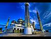 Crystal Mosque HDR (bowjenk) Tags: building architecture searchthebest mosque structure malaysia hdr terengganu wmp kualaterengganu muslimarchitecture tonemapped nikondslr d80 flickrsbest platinumphoto colorphotoaward diamondclassphotographer flickrdiamond dynamicphotohdr masjidkristal crystalmosque pulauwanman tokina1116mm bowjenk