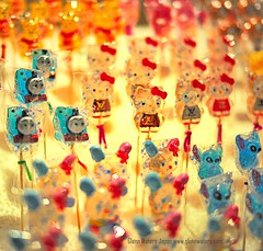 Candy on a Stick.  (Hirosaki Japan).  Glenn Waters.  11,700 visits to this photo. Thank you. (Glenn Waters in Japan.) Tags: festival japan night 50mm nikon candy f14 sigma pikachu japon soe kittychan  d700 nikond700  glennwaters sigma50mmf14exdghsm travelsofhomerodyssey