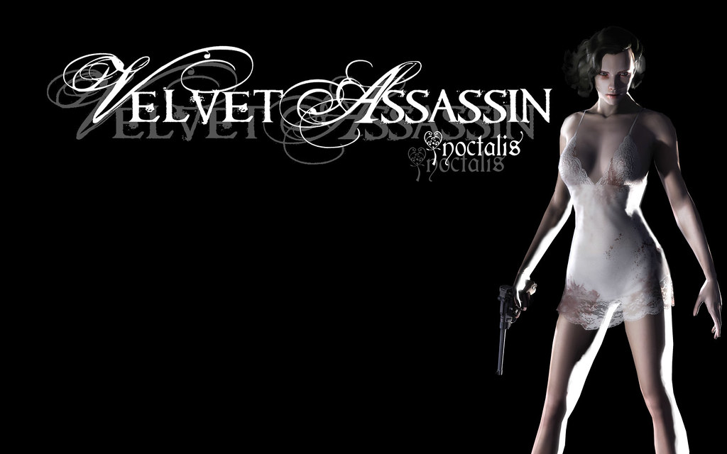 Velvet Assassin lingerie Wallpapers