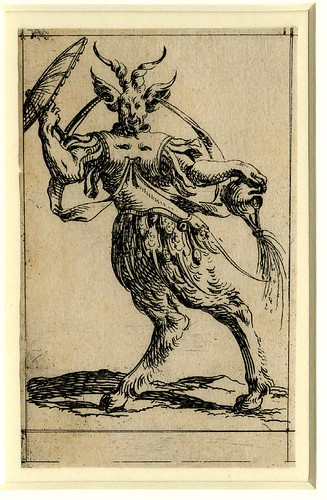 Set of twelve grotesque figures representing the twelve months of the year 1638 Denis Boutemie g