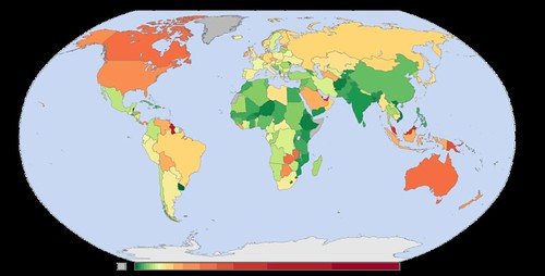 emisiones CO2 por habitante