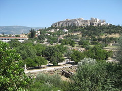 Acropolis from the Ancient Agora (hewy) Tags: travel greece ancientgreece