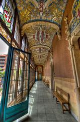 Hospital de Sant Pau: Corridor HDR