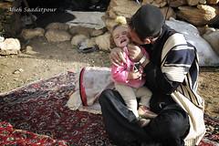 Dady loves you! (Alieh) Tags: persian iran persia iranian  nomads akram aryan  aliehs alieh     saadatpour  chaharmahalbakhtiary apurearyangirl