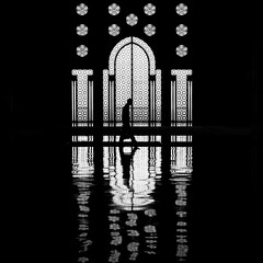 Silhouette (Hassan II Mosque) (pas le matin) Tags: maroc morocco casablanca mosque mosque grandemosque mosquehassanii hassaniimosque bw nb blackandwhite noiretblanc rflexion reflection silhouette contrejour casablancamorocco casablancamaroc backlight mezquita moschee moschea moskee silhouettes mesquita  indoor intrieur interior mosquecasablanca casablancamosque