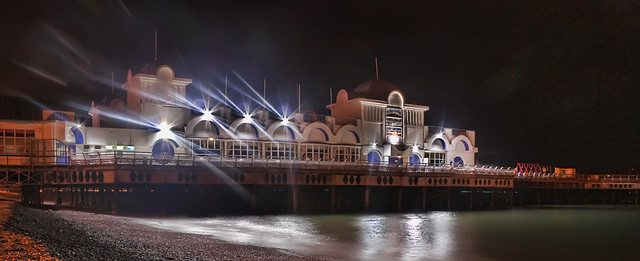 South Parade Pier at Night