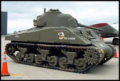 Sherman Tank (thegreatlandoni) Tags: museum centennial airport colorado tank military denver apa sherman aluminumovercast b17g wingsovertherockies