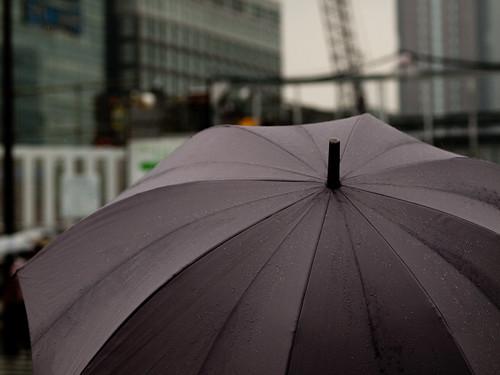 Shinjuku, raining