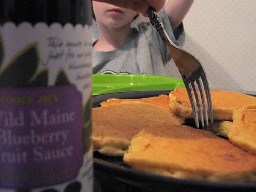 Buttermilk Wheat Pancakes