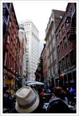 (Arciteka) Tags: nyc hat architecture buildings financialdistrict cobblestone lowermanhattan myfave stonestreet