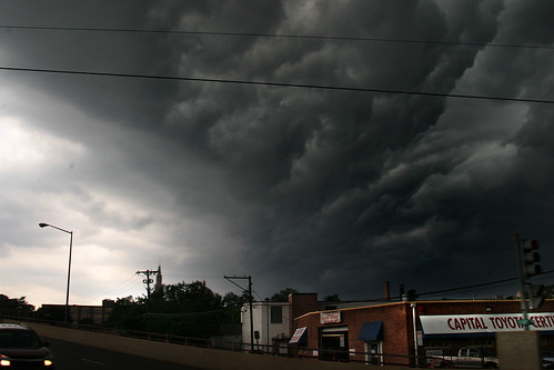 Tuesday evening's storm