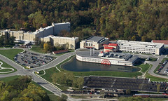 Aerial View French Lick Resort Casino