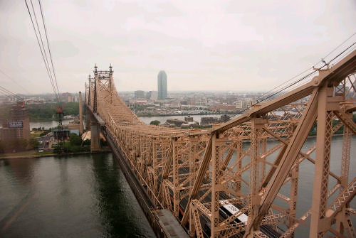 59th Street Bridge from the tram
