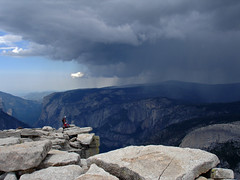 View from top of Half Dome (Curry Village, California, United States) Photo