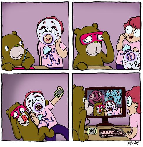 Buttobi Bear & Caesar /ぶっとびベアー&シーザー #000014