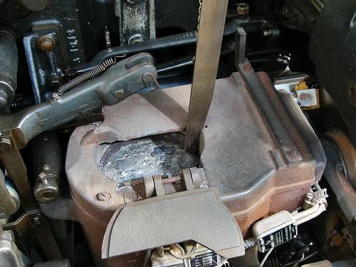 Creuset de Linotype