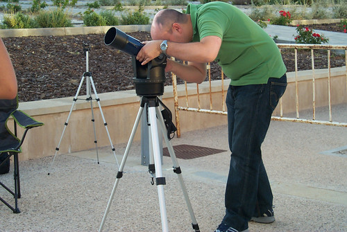 Observación astronómica en Meco