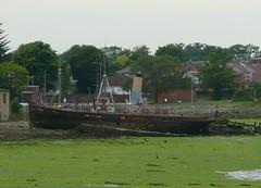 Ex-Gosport Ferry, 'Vadne' (Richard and Gill) Tags: ferry boat hampshire portsmouth hulk gosport gosportferry fortonlake vadne
