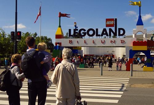 Legoland - entrance