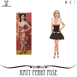 Katy Perry Pose