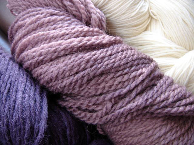 alpaca, hand-spun wool and merino