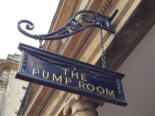 The Pump Room at Bath Spa