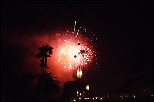 Fireworks at Laguna Beach