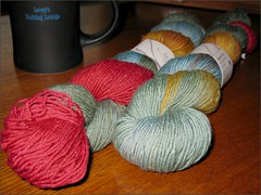 Shepherd Sock in Loopy's Knitting Nook