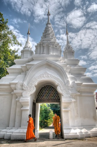 Entrance into Wat Suan Dok