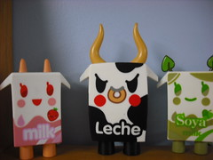 the Moofia gang (Darth Gringa) Tags: kidrobot leche tokidoki moofia