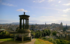 Edinburgh (view from Calton Hill)