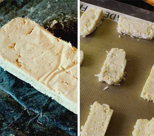 coconut short bread story board