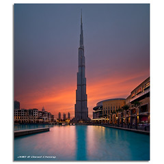 It was once called Burj Dubai... (DanielKHC) Tags: sunset digital interestingness high nikon dubai dynamic uae 7 explore khalifa range fp frontpage dri hdr burj blending d300 dubaimall danielcheong danielkhc vertorama tokina1116mmf28 gettyimagesmeandafrica1