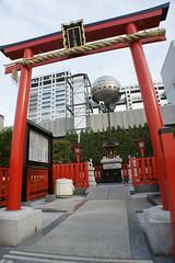 Aqua City  (turntable00000) Tags: city roof building television japan ball photography tokyo tv aqua fuji top sony turntable odaiba 365 takashi nex kitajima turntable00000