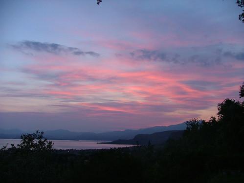 pink sky 28 may 2011
