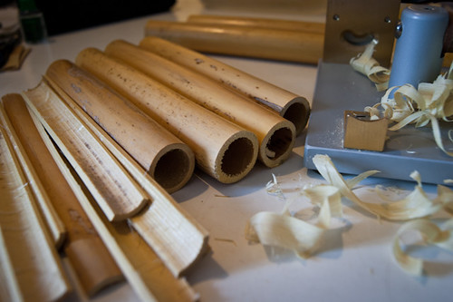 Bassoon reeds making