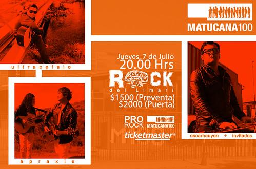 ROCK DEL LIMARÍ en MATUCANA 100 (7/7/2011) by Oscar Hauyon