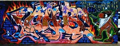 CAB (UTap0ut) Tags: california ca street art cali painting graffiti la los mural paint artist angeles tag otr tagging 2009 kts lod
