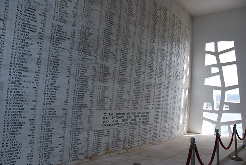 USS Arizona Memorial's Somber Wall of Names