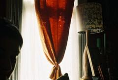Curtains (lola smalls) Tags: atlanta film airport minolta minoltasrt101 32mm filmcameras vintagecameras