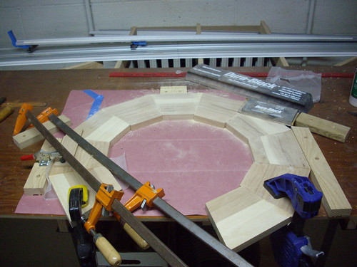 dodecagon glue up