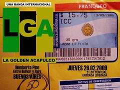 La Golden CREW en Argentina