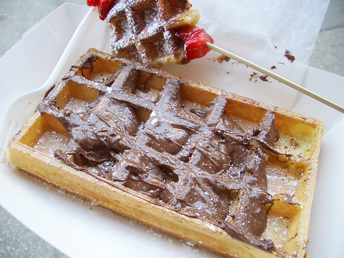 brussels wafel @ wafels & dinges
