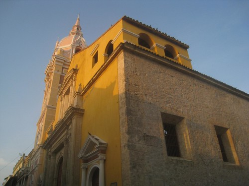 The Old City in Cartagena